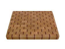 Wooden, Handmade, Cutting Board End Grain with Feet, Butcher Block, Cheese Board