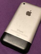 Apple iPhone 1st Generation  - 4GB - Black IPhone 2g Version 1.1.4