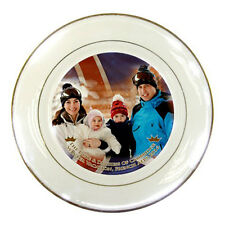 The Duke & Duchess of Cambridge, Prince George Royal Vacation Porcelain Plate #1