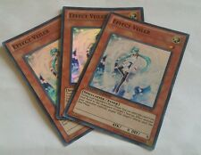 YUGIOH Effect Veiler Super rare ORCS-ENse1 pack  mint Playset x3 limited edition