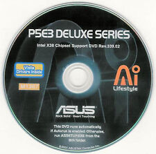 ASUS P5E3 DELUXE WIFI Motherboard Drivers Installation Disk M1267