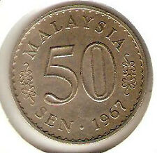 Offer>Malaysia Parliament 50sen coins 1967, 1968 n 1969 complete set-High Grade!
