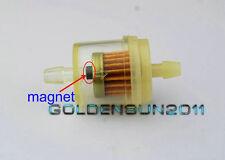 "CAN AM ATV DIRT BIKE  Inline GAS Carburetor Fuel Filter 1/4"" 6mm-7mm MOTOR Z13"