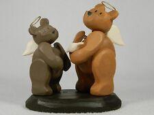 Pozy Bears 'An Angel's Gift' Figurine - Angel Bears with Dove  #320007  NIB
