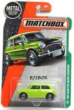 Matchbox 2016 Metal Series 64 AUSTIN MINI COOPER Green Chartreuse Lime Rare New