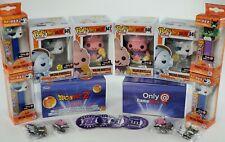 Funko Pop! Dragon Ball Z Gamestop Exclusive Set x 4 Majin Buu, Frieza, Pez, Pin