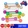 10/30/50/80/100x Plastic Mixed Ball Tongue Nipple Bar Ring Barbell Body Piercing