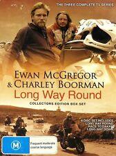 Long Way Round: Collectors Edition (8DVD Box Set, PAL, 0)