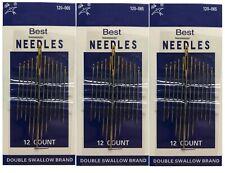 Paquete de 16 agujas de coser de calidad premium Milward surtidas para bordar a mano