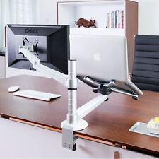 360º rotating height adjustable laptop & Monitor mount/stand/holder for desk/bed