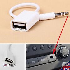 AUX-IN AUTO mp3 JACK AUDIO USB Convertitore Cavo/nuovo di zecca da UK - 2017