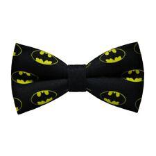 Batman Logo Bow Tie Hand Made UK