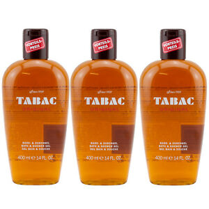 Tabac ORIGINAL Bade & Duschgel 3 x 400 ml for man TOP PREIS
