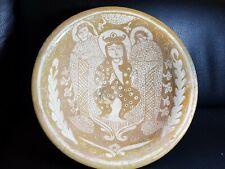 Ancient islamic seljuq sultan harem queen rare lusterware ceramic bowl