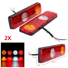 2X Car Rear Tail Lights Brake Stop Light For Trailer Caravan Truck Lorry 36 LED