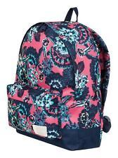 ROXY WOMENS BACKPACK BAG.NEW SUGAR BABY FLOWER RUCKSACK.SCHOOL GYM 16L 8S 7 MLJ5
