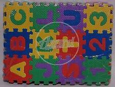 140 x 100 cm Tappeto con lettere dellalfabeto Sevi 60531