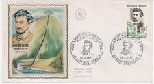 FRANCE 1972.F.D.C. SOIE. ARISTIDE BERGES. OBLIT:LE 19/2/72 LORP-SENTARRAILLE