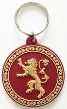 Game Of Thrones Lannister Lion TV Show Red Rubber Schlusselanhanger Official