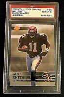 2000 Coll. Edge Graded-AKILI SMITH-PSA 8 NM-MT Cincinnati Bengals-Card #139
