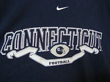 University of Connecticut Football T- Shirt  BIG EAST~NIKE Medium~UCONN Huskies