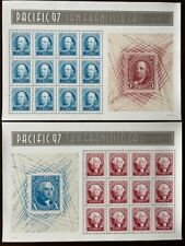Us #3139 & #3140 Pacific 97 San Francisco, Souvenir Sheet of 12, Mint, perfect!