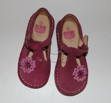 Toddler Baby Girls ACKERMANS BABY CO Pink Suede Shoes Sz 9 Made in S Africa