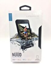 Lifeproof iPhone 6 plus solo Nuud impermeable funda A Prueba De Choques Negro