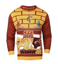New Cleveland Cavaliers Ugly Christmas 3D Sweater Size XL jersey hat __S34