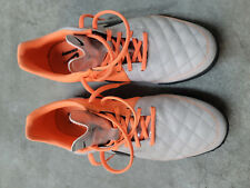 New listing nike mens tiempo genio soccer cleat shoes size 11.5 orange 621284 008
