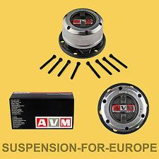 AVM Kit Mozzi Ruota Libera Nissan King Cab D21 e Terrano I (6 fori, 27 cave)