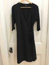 Ladies Black Miss Me Brand Wrap Dress, Size 14-16