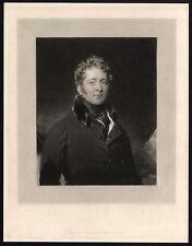 Antique Print-PORTRAIT-SIR WILLIAM KNIGHTON-Turner-Lawrence-1823