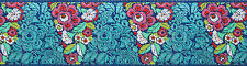 """Amy Butler Blue Blossom Pyramid Trim 2"""" BTY 100% Polyester Renaissance Ribbons"""