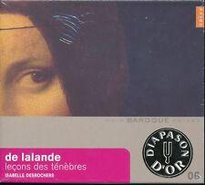 Isabelle Desrochers De Lalande Lecons des tenebres CD NEW