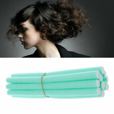 10X Soft Foam Curler Bendy Twist Curly Hair Makers DIY Styling Hair Rollers
