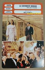 US Drama The Last Tycoon Robert De Niro Tony Curtis French Film Trade Card