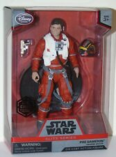 STAR WARS elite Figure PoE Dameron DISNEY STORE CASE Fresh Force Réveille