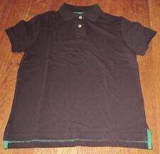 New~Boys Arizona Jean Co School Uniform S/S Cotton Polo Shirt~Navy Blue~Sz S 6-8
