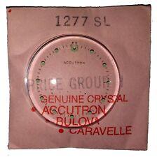 Original NOS Bulova Accutron Spaceview Crystal Ref. 1277 SL / 1277SL, Swiss