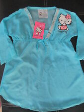 TUNIQUE VOILE PLUMETIS HELLO KITTY 10/11 ANS A NE PAS RATER