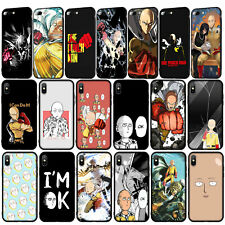 ONE PUNCH MAN Phone Case for iPhone 11 Pro XR X XS Max 8 7 6 6s Plus 5S SE 2020