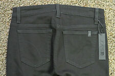 JOE'S BLACK COLLECTION JEANS 26X30 NWT$234 Sexy Skinny Fit! Black With Leather!