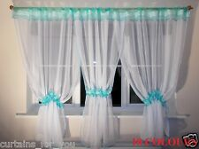 MODERN AMAZING NET CURTAINS WHITE VOILE 11 COLOURS  FOR YOU FREE DELIVERY!