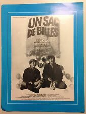 AFFICHETTE CINEMA UN SAC DE BILLES DE JACQUES DOILLON