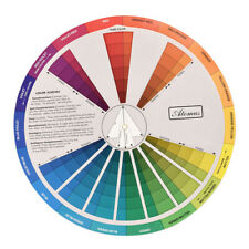 Painting DIY Color Nail Polish Tattoo Ink Pigment Mixing Guide Chart Board Wheel