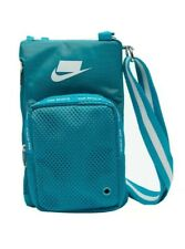 Nike Sport Small Items Crossbody/Shoulder Bag Multi-Pockets Turquoise