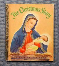 The Christmas Story -  A Little Golden Book - rare 1952 edition