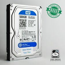 "500GB Western Digital Blue WD5000AAKX-22ERMA0 3.5"" SATA Internal Hard Drive HDD"