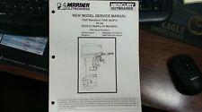 MERCURY SERVICE MANUAL PART# 90-826883R1 MAY 1996 MARINER OUTBOARDS WITH S/Ns